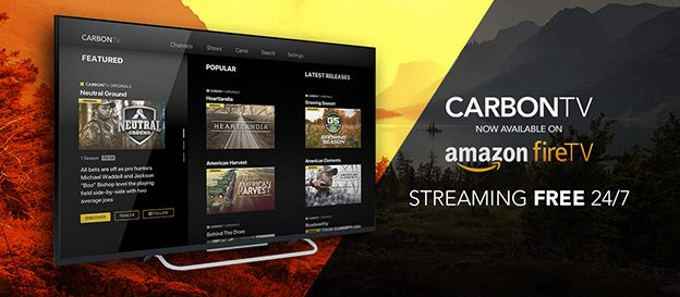 CarbonTV Debuts Free Amazon Fire TV App | Carbon Media