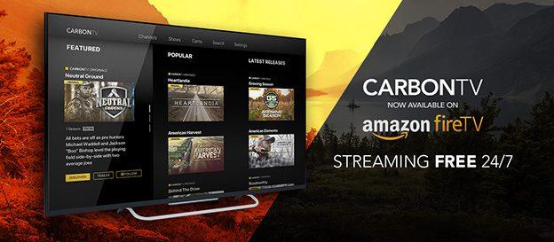 CarbonTV Debuts Free Amazon Fire TV App | Carbon Media